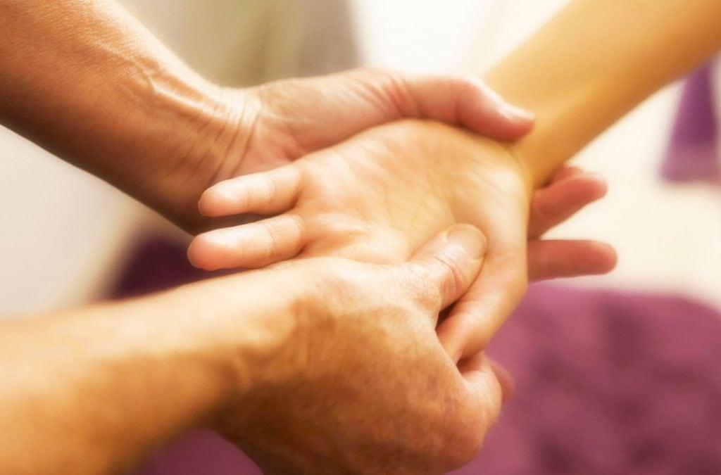 Massage une touche de vie
